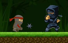 Ninja Ben running