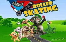 Talking Friends Roller Skating