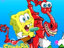 Soaring SpongeBob
